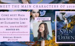#MTMC19 Chat: Spin the Dawn by Elizabeth Lim