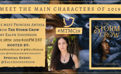 #MTMC19 Chat: The Storm Crow (The Storm Crow, #1) by Kalyn Josephson