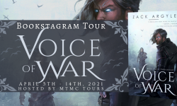Bookstagram Tour Sign Ups: Voice of War by Zack Argyle